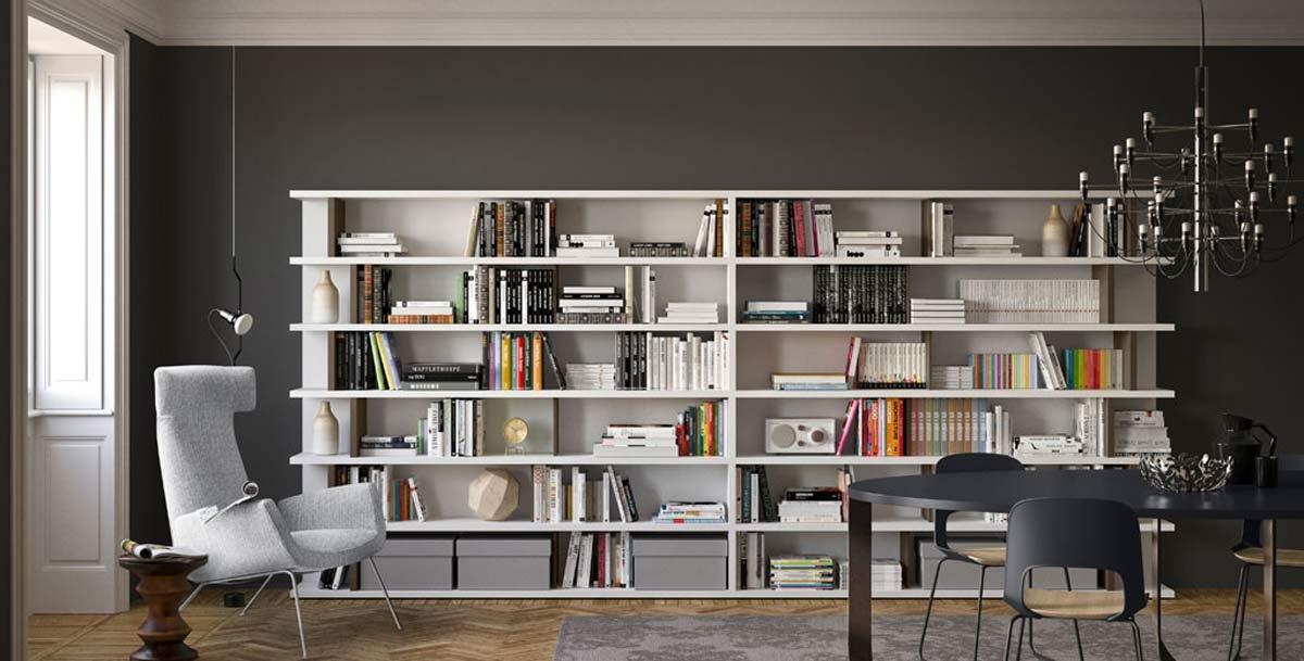 Arredamenti zona giorno - Librerie di design per casa ...