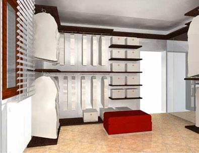 Progettazione e arredamento su misura - Progettazione cabina armadio ...